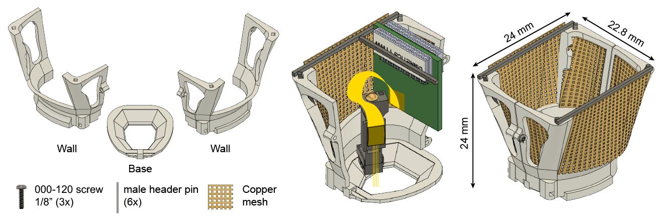 Mouse cap system
